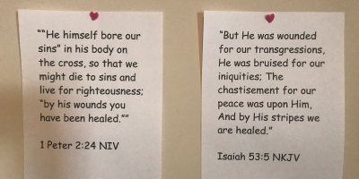 Bible verse, scripture, declarations, healing