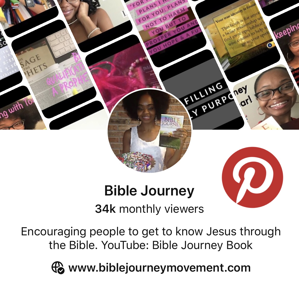 Pinterest, Bible Journey