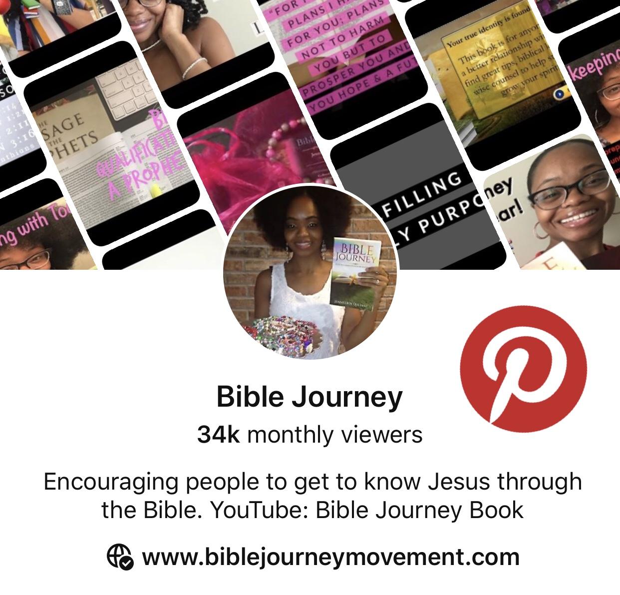 Pinterest, Bible Journey