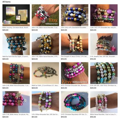 Bible Journey Bracelets